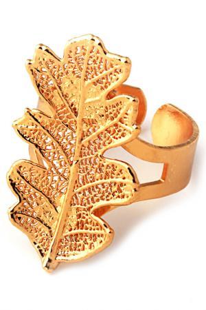 Кольцо Ester Bijoux. Цвет: золотой