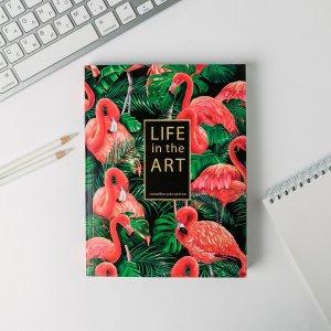 Ежедневник-смешбук с раскраской а5, 80 л life in the art ArtFox