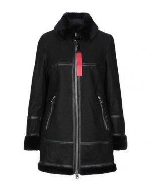 Пальто FREAKY NATION. Цвет: черный