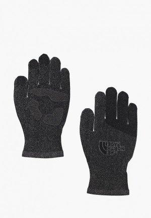Перчатки The North Face M ETIP KNIT GLOVE. Цвет: черный
