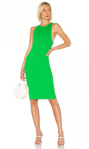 Платье миди dawn Privacy Please. Цвет: зеленый