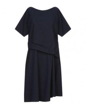 Короткое платье ANNARITA N TWENTY 4H. Цвет: темно-синий