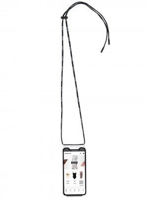 Чехол для iPhone 11 с логотипом VLTN Valentino. Цвет: нейтральные цвета