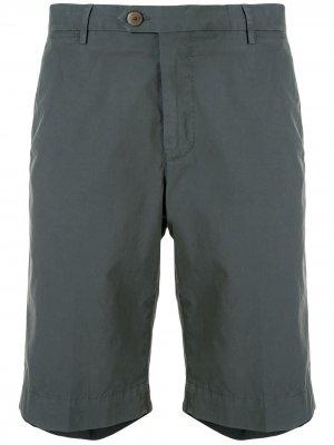 Chino Bermuda shorts Corneliani. Цвет: зеленый