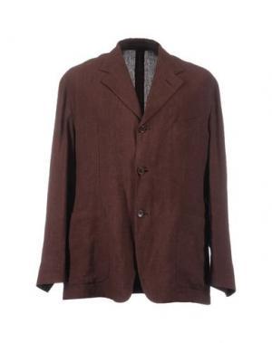 Пиджак ROMEO GIGLI. Цвет: красно-коричневый