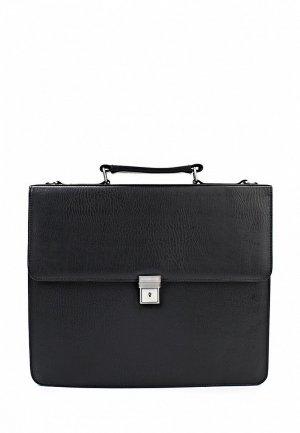 Портфель Bodenschatz BO001BMKO005. Цвет: черный