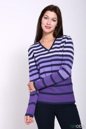 Пуловер Lebek. Цвет: сиреневый