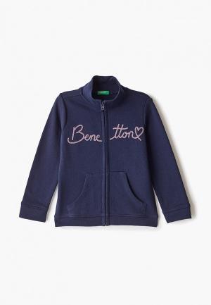 Толстовка United Colors of Benetton. Цвет: синий