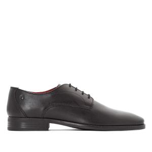 Ботинки-оксфорды кожаные Ivy BASE LONDON. Цвет: черный