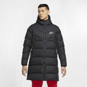 Мужская парка Sportswear Down-Fill Windrunner Shield - Черный Nike