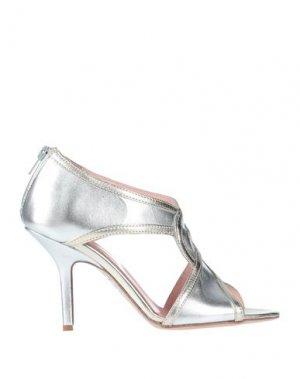 Ботинки ANNA F.. Цвет: серебристый