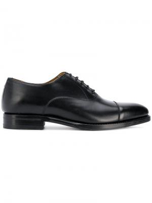 Классические оксфорды Berwick Shoes. Цвет: черный