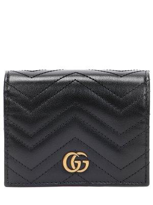 Кошелек кожаный GG Marmont GUCCI