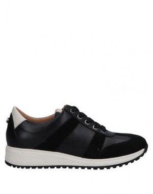 Низкие кеды и кроссовки LONGCHAMP. Цвет: черный