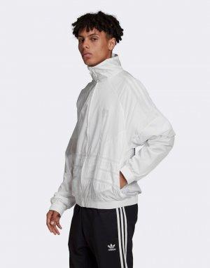Белая олимпийка с логотипом-трилистником -Белый adidas Originals