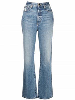 Расклешенные джинсы Danielle KHAITE. Цвет: синий
