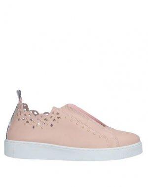 Низкие кеды и кроссовки GATTINONI. Цвет: розовый