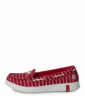 Мокасины женские Glide Ultra, размер 40 Skechers. Цвет: красный
