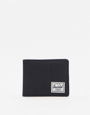 Черный бумажник с RFID-защитой Herschel Supply Co