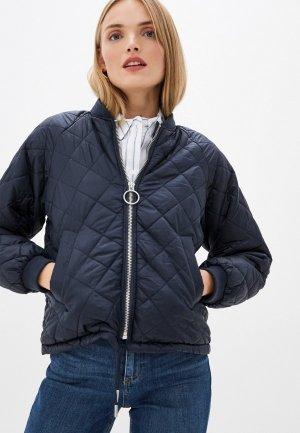 Куртка утепленная Ichi. Цвет: синий