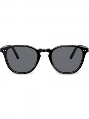 Солнцезащитные очки Forman L.A. Oliver Peoples. Цвет: черный