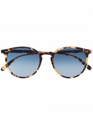 Солнцезащитные очки Morning Side Garrett Leight. Цвет: коричневый
