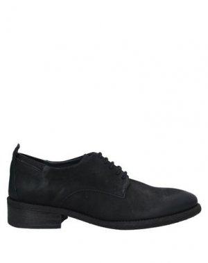 Обувь на шнурках FELMINI. Цвет: черный
