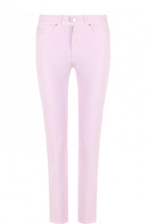 Укороченные джинсы Loro Piana. Цвет: светло-розовый