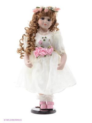 Кукла фарфор. Кристина. Angel Collection. Цвет: голубой, фиолетовый