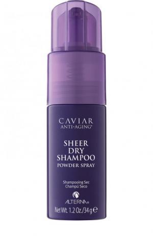 Сухой шампунь для волос Anti-aging Sheer Alterna. Цвет: бесцветный