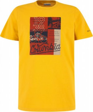 Футболка мужская Warren Grove™, размер 50-52 Columbia. Цвет: желтый