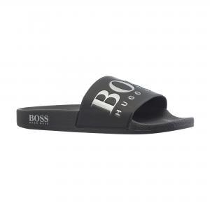Сланцы Solar Sliders Sandals in Rubber HUGO BOSS