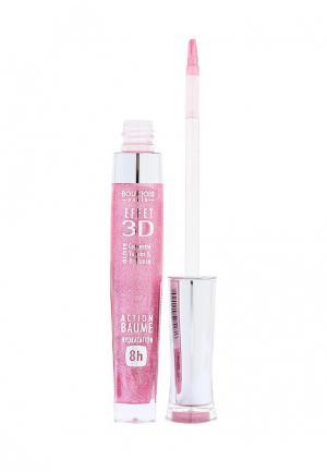 Блеск для губ Bourjois 3D Lip Gloss, 20 Rose Symphonic, 5,7 мл. Цвет: розовый