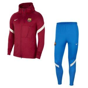 Мужской футбольный костюм Dri-FIT FC Barcelona Strike - Красный Nike