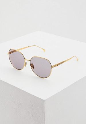 Очки солнцезащитные Fendi FF 0451/F/S 001. Цвет: золотой