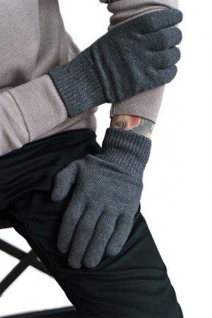 Перчатки JOHN TRIGGER. Цвет: антрацитовый