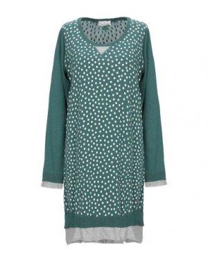 Короткое платье GUARDAROBA by ANIYE. Цвет: цвет морской волны