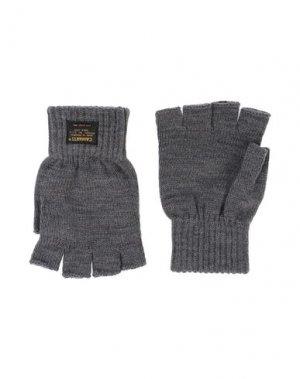 Перчатки CARHARTT. Цвет: свинцово-серый