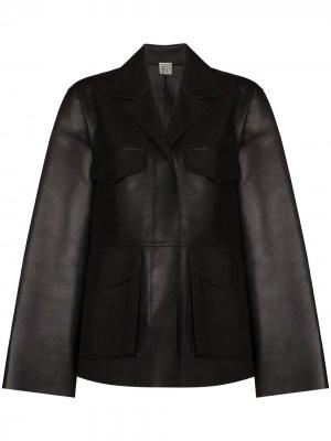 Куртка Army Totême. Цвет: черный