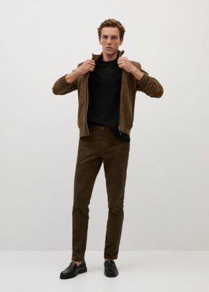 Хлопковая рубашка с длинным рукавом - Gareth Mango. Цвет: черный