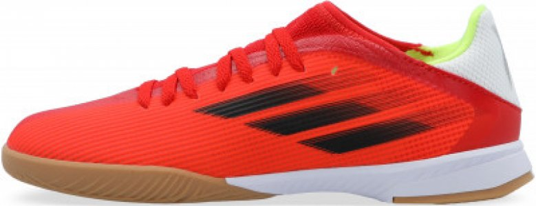 Бутсы для мальчиков adidas X Speedflow.3 IN J, размер 36. Цвет: красный