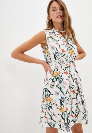 Платье Colins Colin's. Цвет: белый