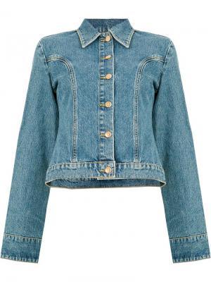 Джинсовая куртка на пуговицах Aalto