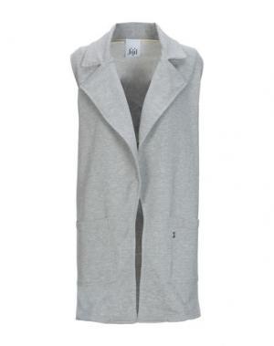 Легкое пальто JIJIL. Цвет: серый