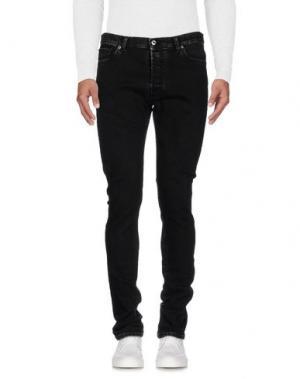 Джинсовые брюки VALENTINO. Цвет: черный