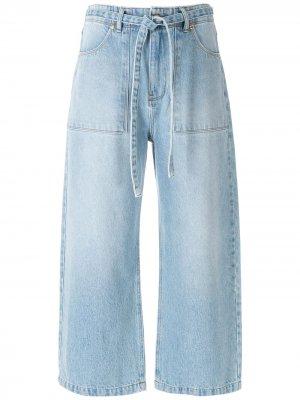 Denim culottes Amapô. Цвет: синий