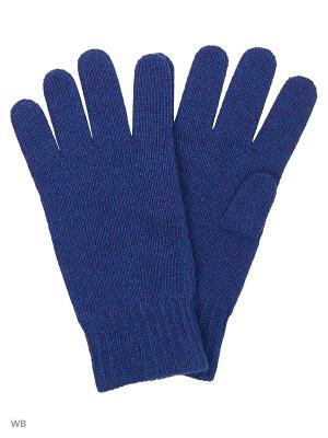Перчатки United Colors of Benetton. Цвет: синий, черный