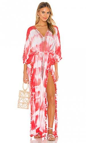 Макси платье farrah Michael Stars. Цвет: розовый
