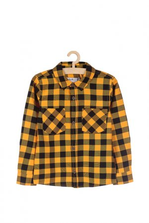 Рубашка 5.10.15.. Цвет: желтый