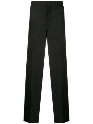 Классические брюки строгого кроя Burberry. Цвет: черный